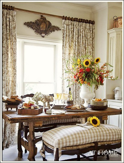 Window Treatments Should Be Near The Top Of Your French Country Decorating List They Are Essential In Creating Look