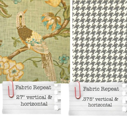 How to pick drapery fabric from http://www.jenniferdecorates.com