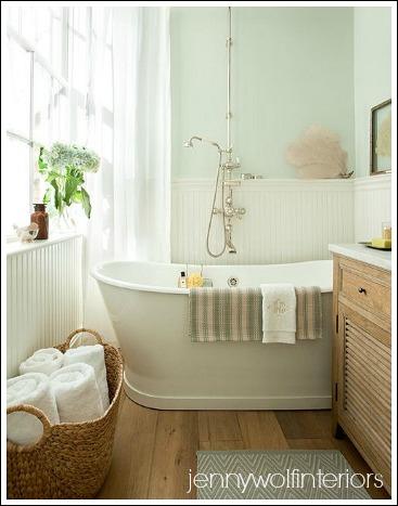 Small Bathroom Makeovers   Easy Bathroom Decorating Ideas