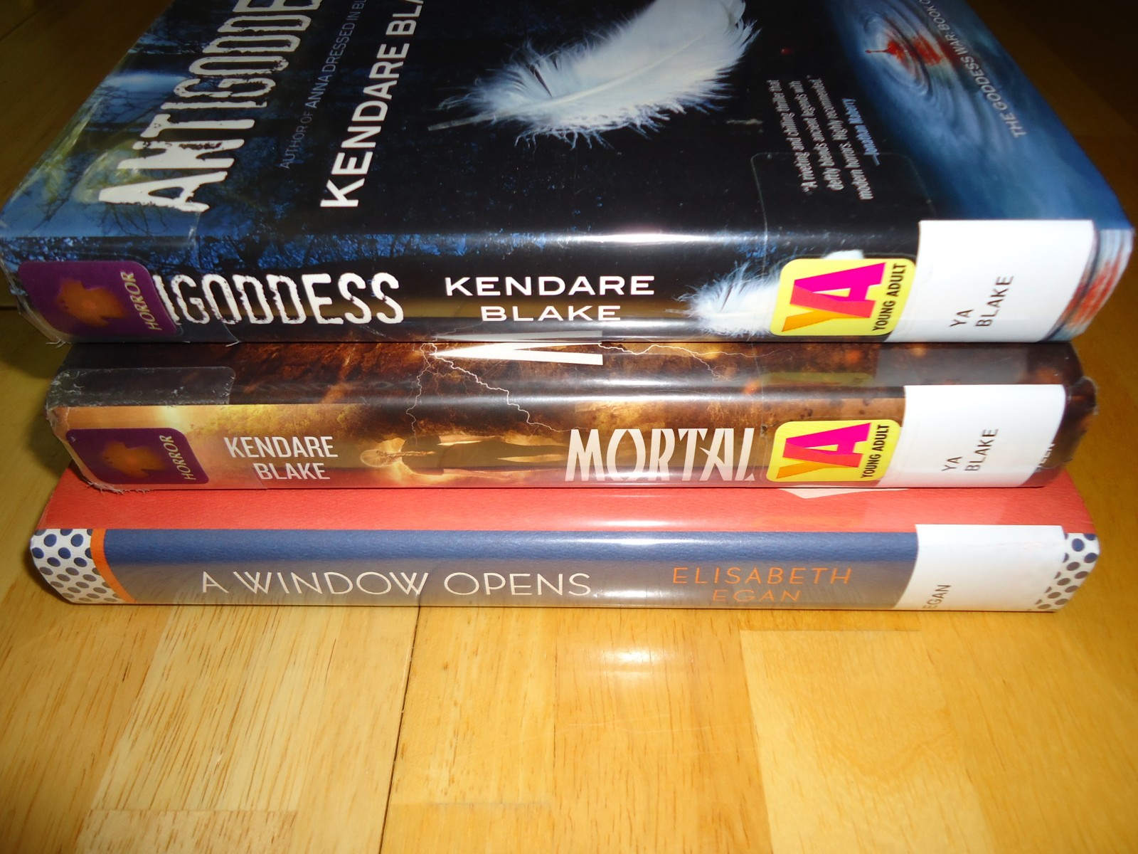 Library Haul and Reading List 9/4/15