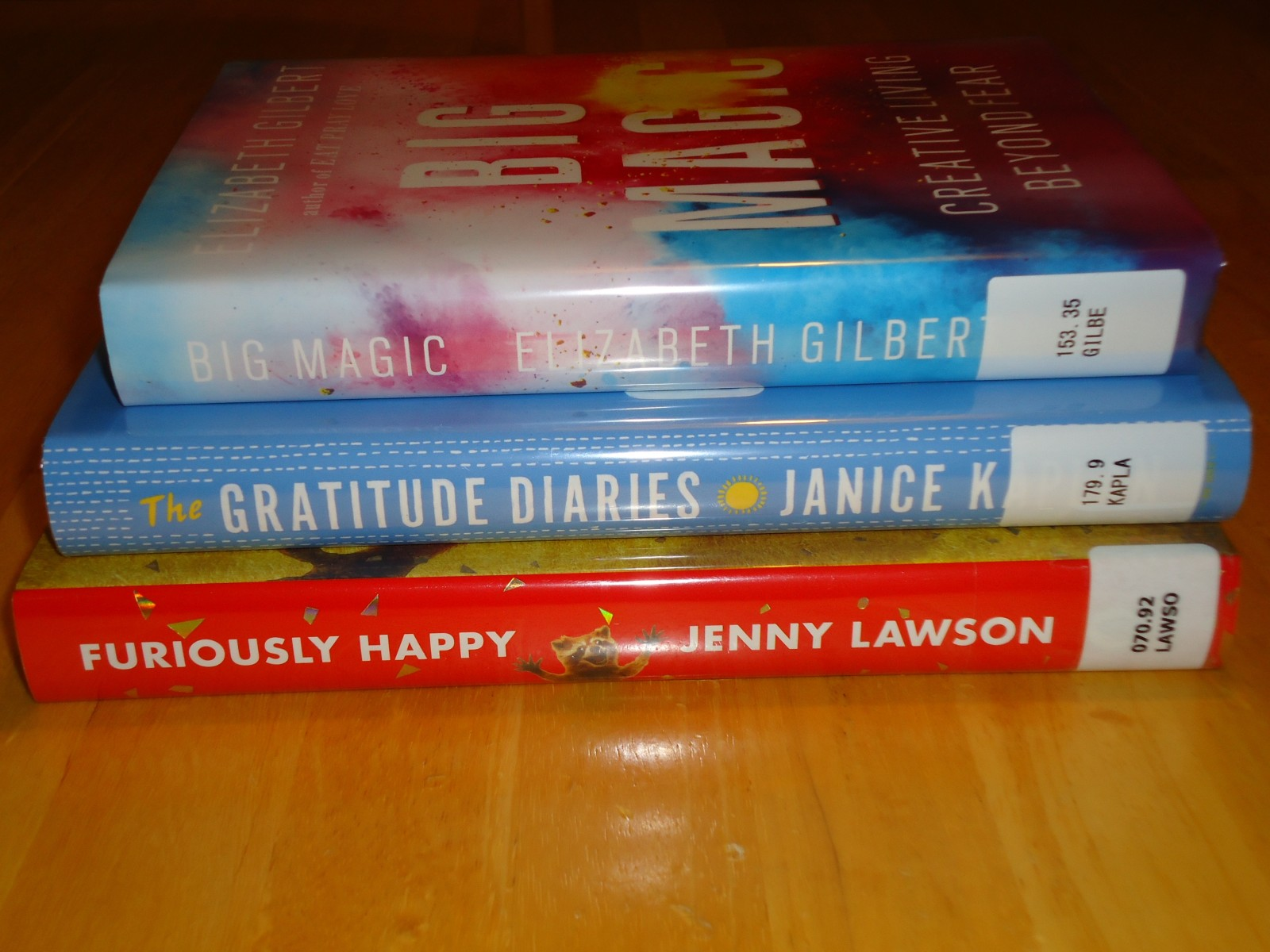 Library Haul and Reading List 10/2/15