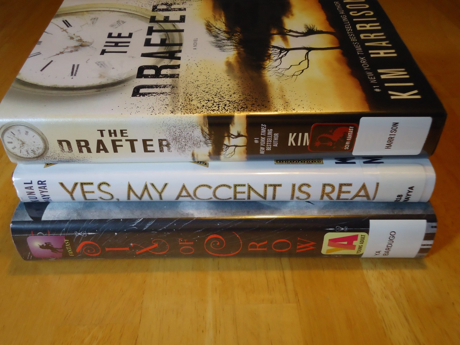 Library Haul & Reading List 10/9/15