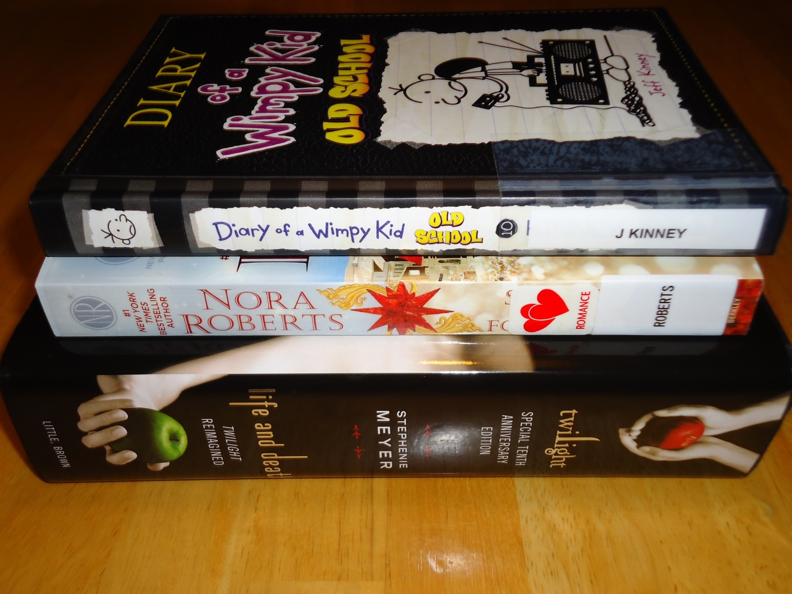 Library Haul & Reading List 11/13/15