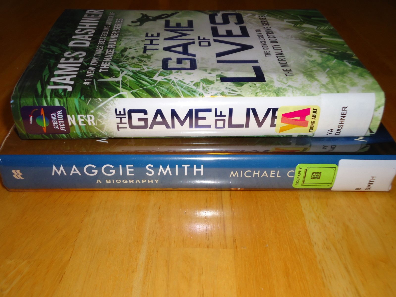 Library Haul and Reading List 01/08/16