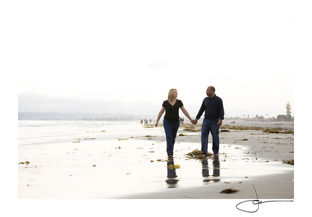 Kate & Eric's Engagement Session at the Hotel Del coronado