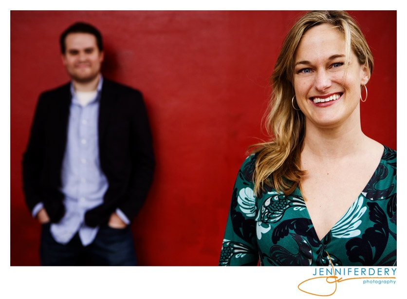 Laura and Eli's Engagement Session in New York City