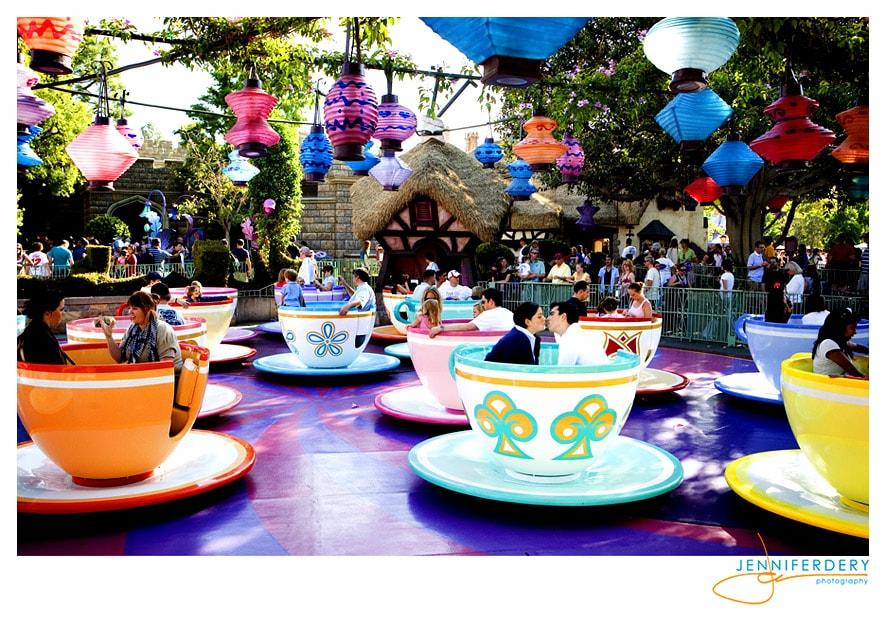 An Engagement Session at Disneyland – John & Jennifer