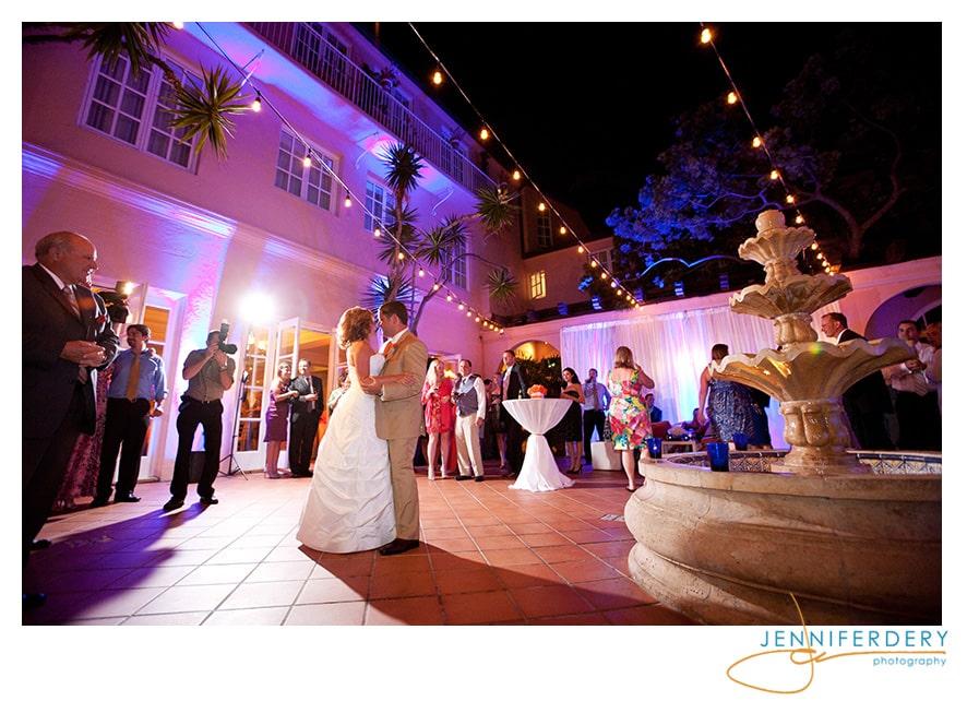 Orange and Blue Wedding at La Valencia – Michelle and Jeremy