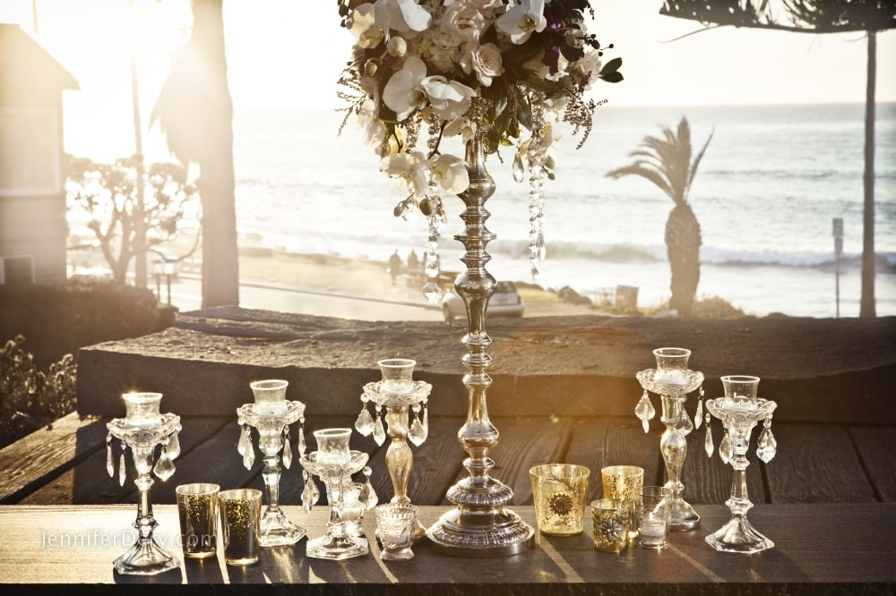 Valentines Engagement Ideas : Blue + Yellow Romantic Picnic with a View