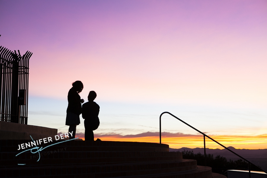 photos of a proposal at Mt Soledad sunrise sunset (10)