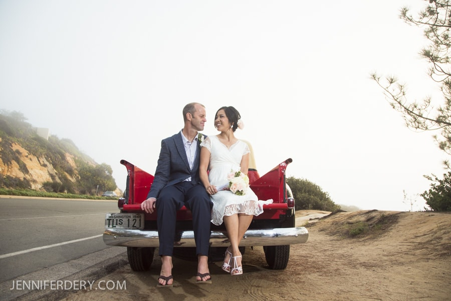 Stacy & Steve Get Married – Del Mar Bluffs |  A.R. Valentine