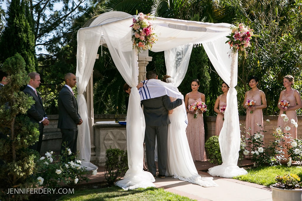 New Orleans Inspired Wedding photos at the Prado Balboa Park San Diego