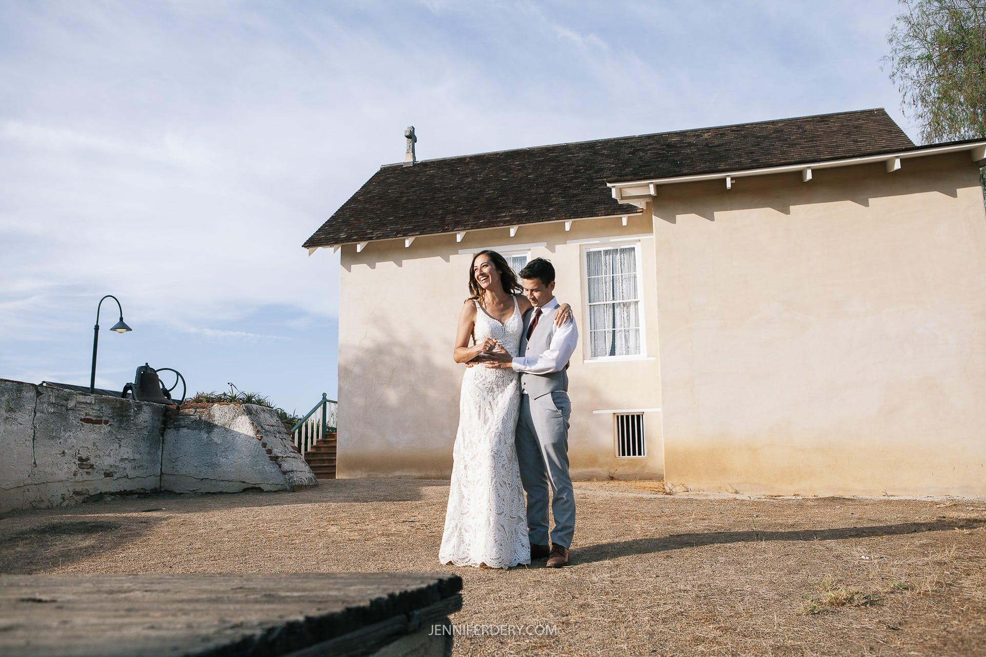 Rancho Guajome Adobe Wedding: Tanya & Donovan