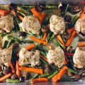 Sheet Pan Lemon Butter Chicken & Veggies