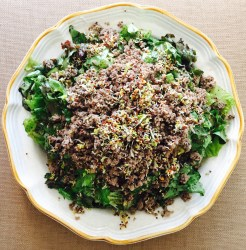 The Big Beef Salad AIP Paleo