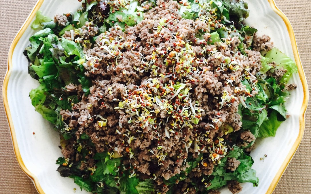 The Big Beef Salad (AIP, Keto, Paleo)