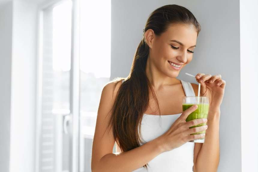green smoothie for IBS and weight loss