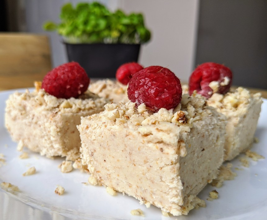 tiger nut cheesecake