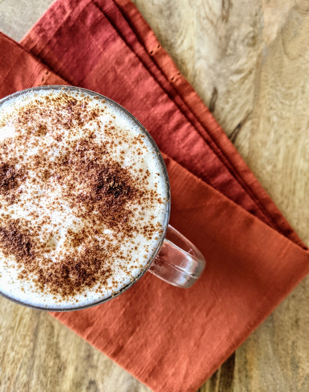 Pumpkin Spice Latte Dairy Free Paleo Plant-Based
