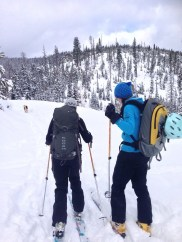 Skinning to ski