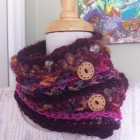 Stashbuster Mixed Media Cowl