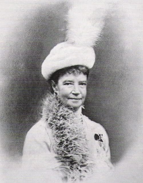 The Dowager Empress in exile