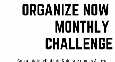 Copy of organize now monthly challenge
