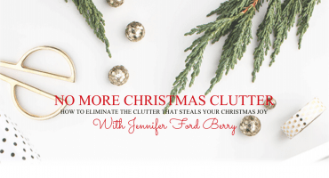 No More Christmas Clutter