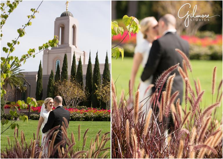 Newport Beach LDS Temple Wedding Newland House Reception