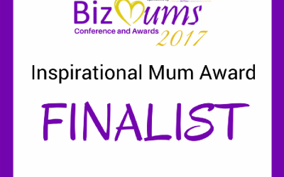 BizMums Inspirational Mum Award Finalist 2017