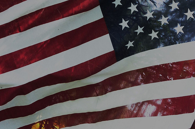 American Flag by Valerie Everett