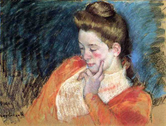 Woman by Mary Cassatt