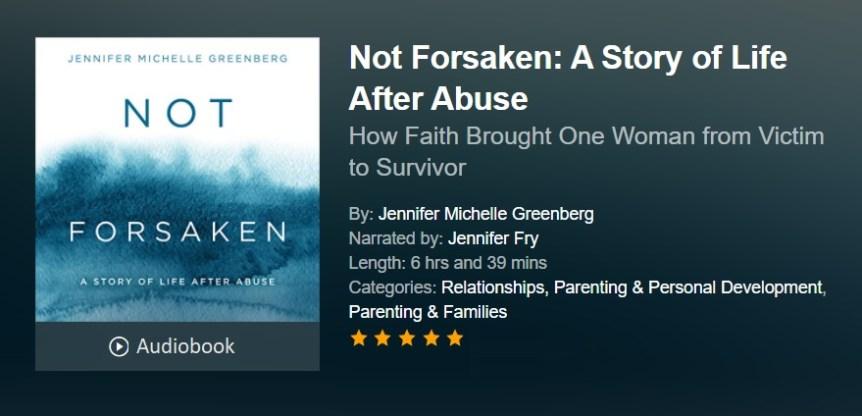 Not Forsaken Audiobook Audible