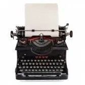 14883423-old-dutch-type-writer-with-paper-sheet-isolated-on-white