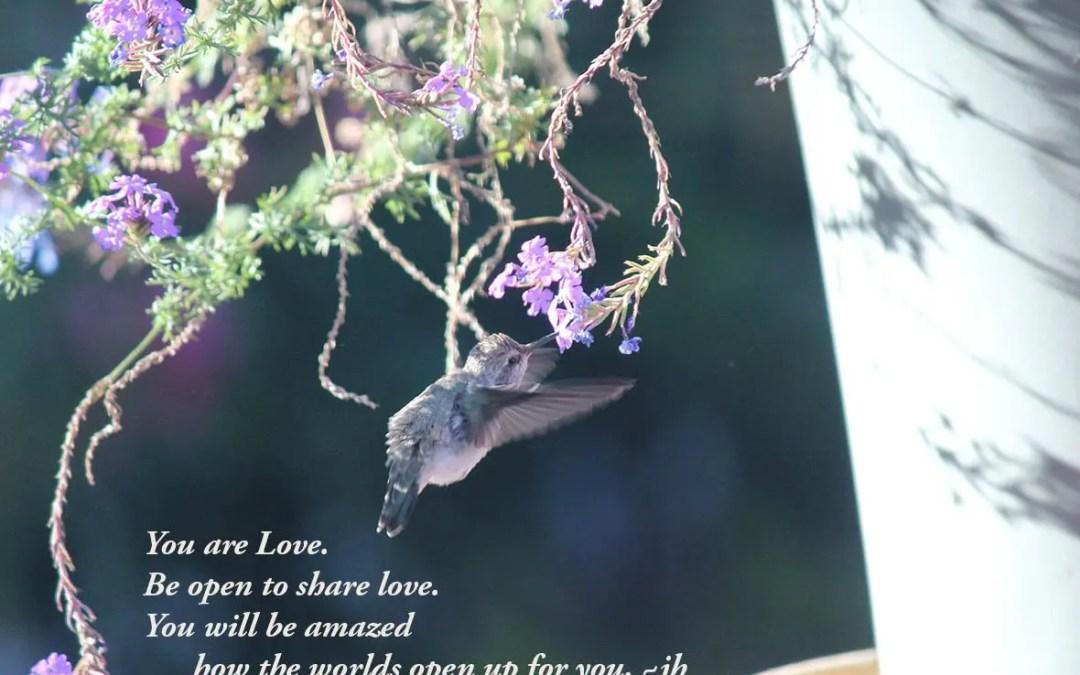 Love, Be Love