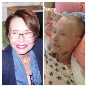 My mom: October 2007 and late June 2008