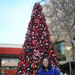 Christmas tree and me