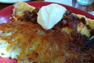 Hungarian omelet