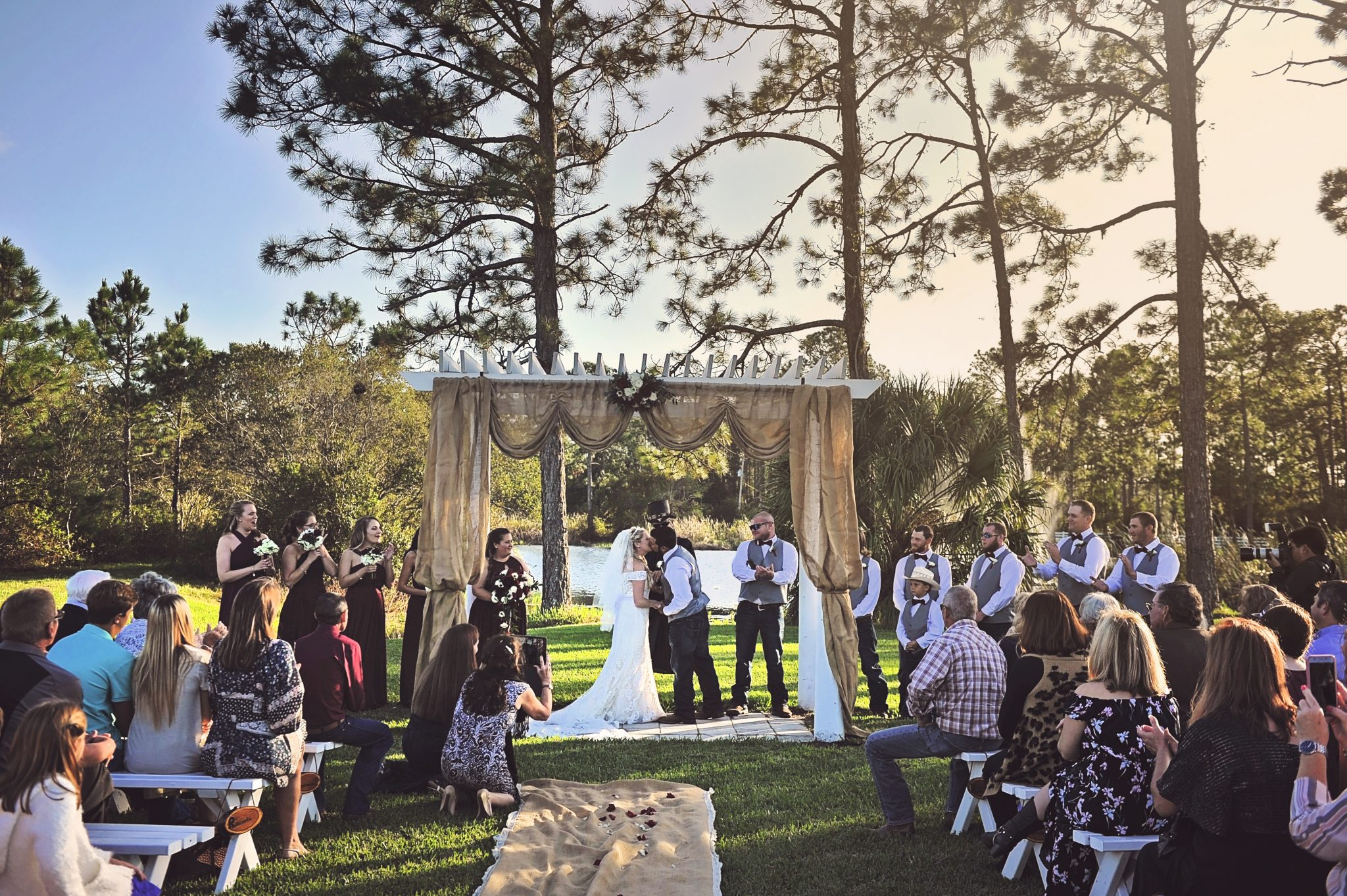 Wedding at Rodeo Lakes