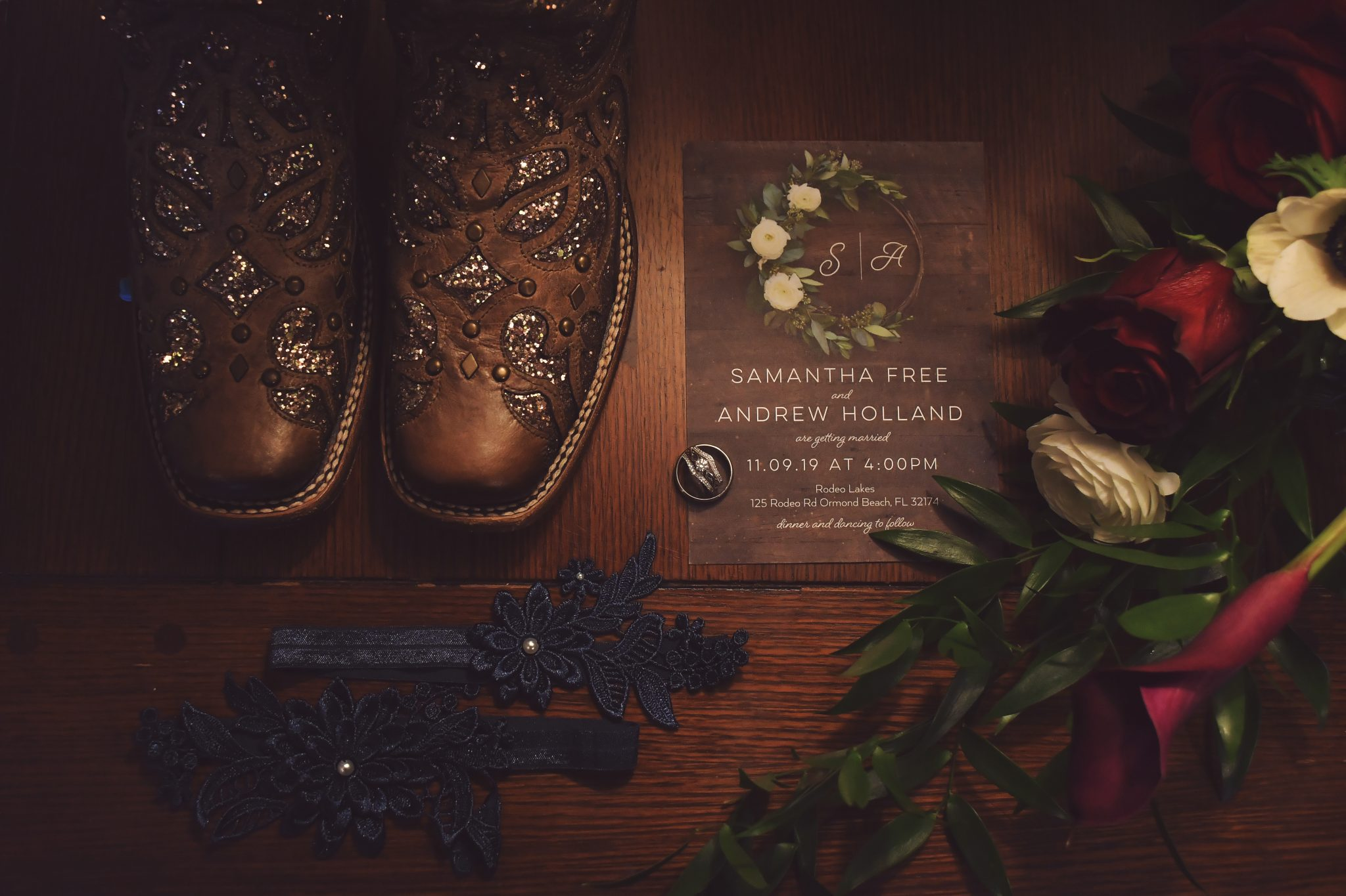 rustic country wedding daytona beach