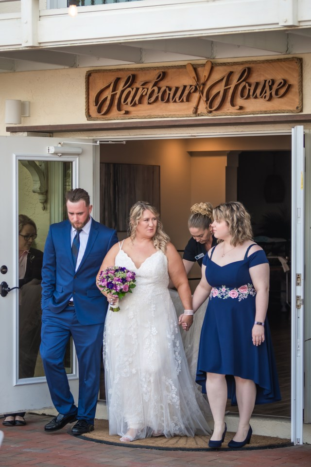 Wedding at Harbour House