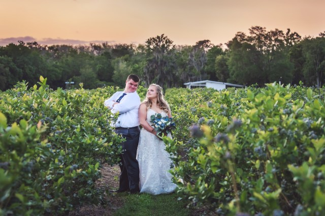 Ever After Farms Blueberry Wedding