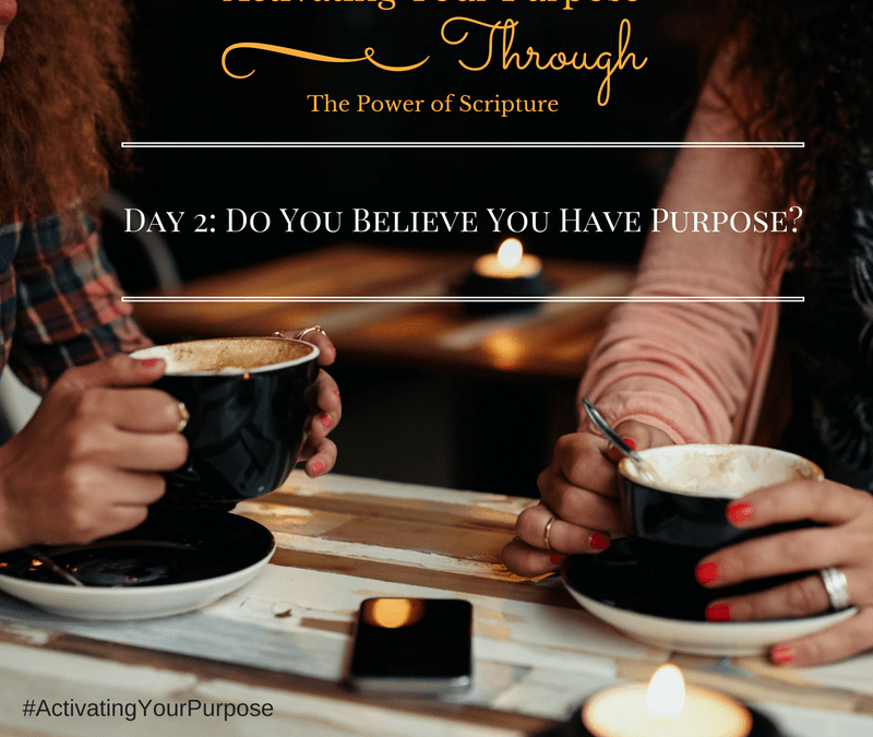 Do You Believe You Have Purpose? Activating Your Purpose Through the Power of Scripture (A 31 Day Series)