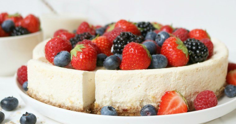 HEALTHY CHEESECAKE