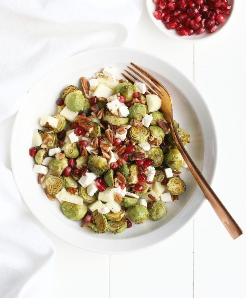 Zoete Spruitjes Salade - Jennifer Krijnen