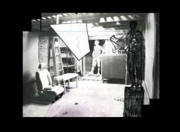 Preliminary sketch for a borrowed garage
