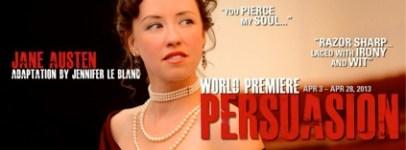 Persuasion at San Jose Stage Company