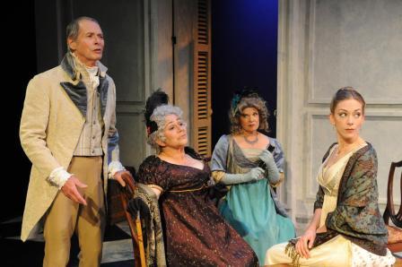 The Elliott Family - Jane Austen's Persuasion adaptation by Jennifer Le Blanc