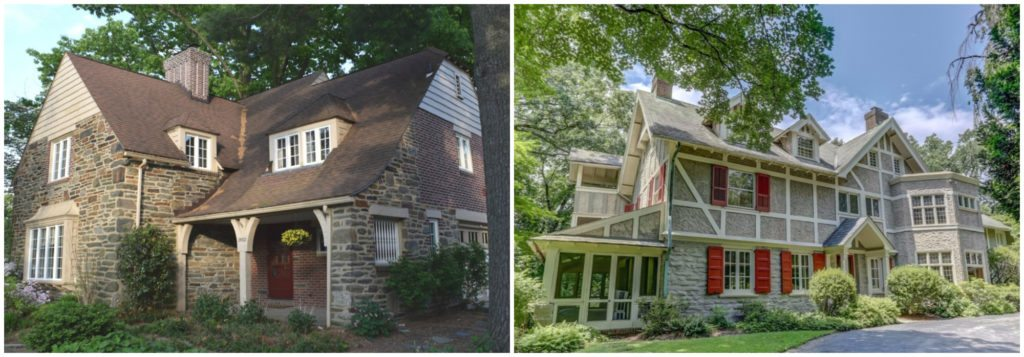 Typical Ardmore, PA house on Philadelphia's Main Line