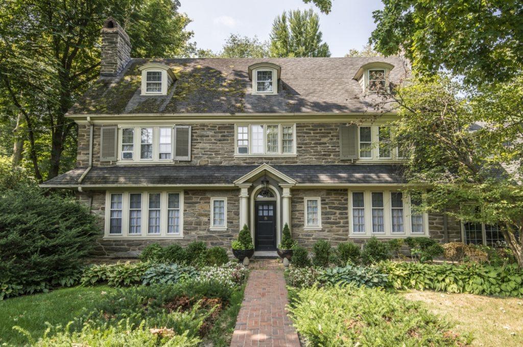 Stone home in Bryn Mawr, PA